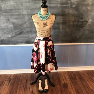 Dresses & Skirts - Pleated Fit and Flare Skirt